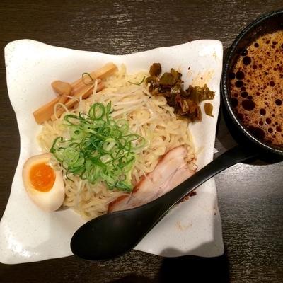 「肥後黒つけ麺(大)980円」@元祖熊本黒拉麺 清正 northport mall店の写真