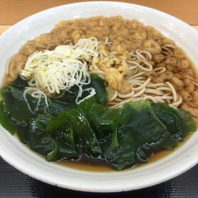 「朝そば(¥300)」@梅もと 新宿西口店の写真