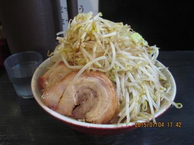 「ラーメン(ニンニク野菜4倍) 中盛300g ¥670」@ダントツラーメン 岡山一番店の写真
