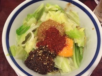 「坦々拌麺¥800」@こころやの写真