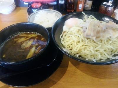 「カレーつけ麺 200g」@神戸ちぇりー亭 宝塚店の写真