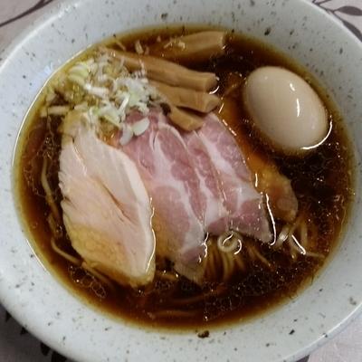 「らーめん(750円)」@麺工 小烏丸の写真