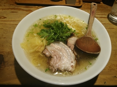 「本丸塩らー麺」@横濱元町 本丸亭 横浜店の写真