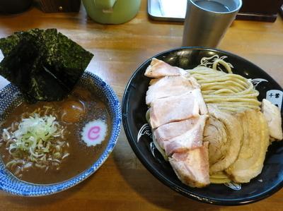 「特製つけそば (並)  1100円」@中華蕎麦 とみ田の写真