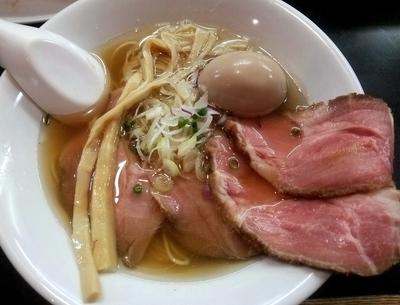 「味玉塩そば 他 (150707)」@麺処 晴の写真