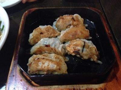 「肉餃子」@海鮮餃子 帆船 稲毛店の写真
