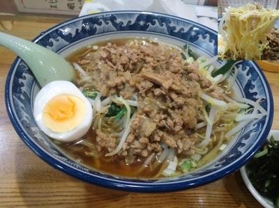 「台湾風担担麺大盛750円」@台湾料理 李月の写真