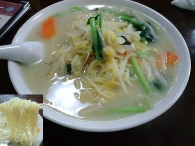 「野菜タンメン780円」@味香苑の写真