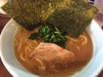 「ラーメン海苔まし」@横浜家系 侍の写真