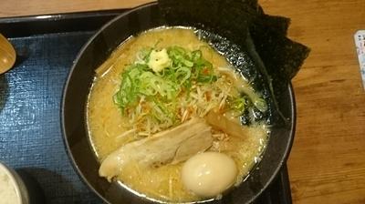 「濃厚ねぎ味噌スペシャル」@北海道らぁめん 伝丸 1国四日市三ツ谷店の写真