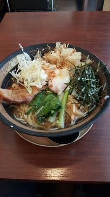 「冷やしらーめん」@餃子 麺 空海 浜松町店の写真