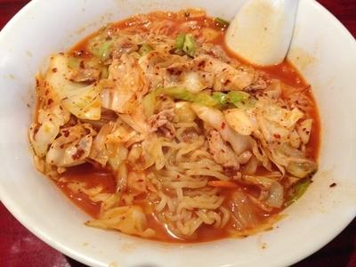 「香港麺」@中国広東料理 錦鼓楼 1号店の写真