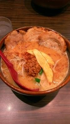 「北海道味噌漬け炙りチャーシュー麺¥980+税」@麺場 田所商店 松戸六高台店の写真