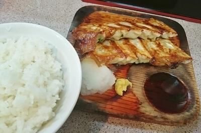 「Aセット(餃子2人前定食) \750」@コント 浅草本店の写真