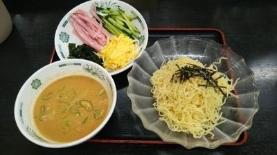「ごま味噌冷し」@日高屋 川崎銀柳街店の写真