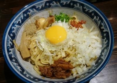 「汁なしそば 大盛910円」@麺や 蒼 AOIの写真