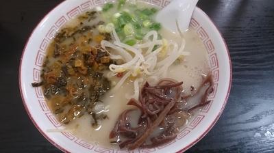 「激辛高菜ラーメン(630円)」@お栄さんの写真