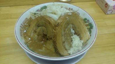 「味噌豚入りラーメン980円」@ラーメン 龍郎の写真