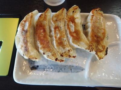 「餃子250円(ぱどクーポンで無料)&味噌750円」@麺屋ひぶたの写真