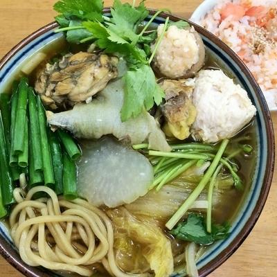 「活国産鼈 甲純拉麺Bガメラ2500円他」@MENYA 食い味の道有楽の写真