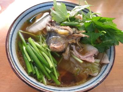 「活 国産鼈 甲純拉麺 (ガメラ:手か足1本入) 2500円」@MENYA 食い味の道有楽の写真