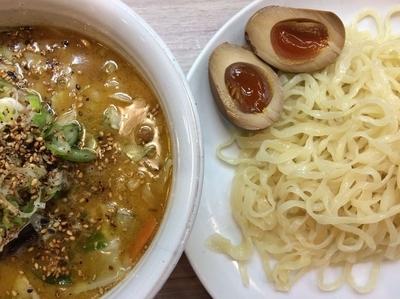 「野菜味噌つけ麺 700円」@天下一らーめんの写真