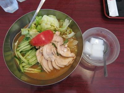「棒々鶏冷し中華:800円」@大連飯店の写真