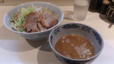 「塩つけめん(麺硬め)」@らーめん 陸 尾山台店の写真