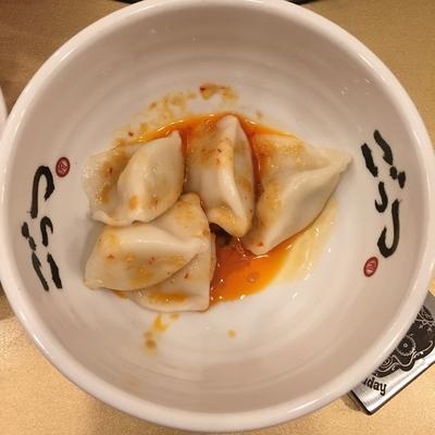 「もちもち水餃子」@超ごってり麺 ごっつ 秋葉原店の写真