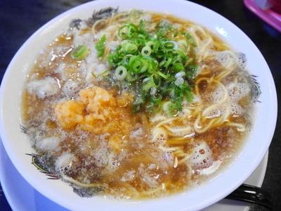 「肉醤油ラーメン 麺硬め」@肉醤油ラーメン 肉太郎 梅田第3ビル店の写真