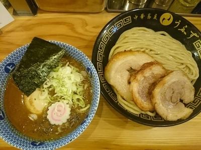 「特製つけめん(小)¥980」@中華蕎麦うゑずの写真
