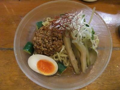 「【限定】夏の肉みそ冷やし麺(880円)」@野方ホープ 荻窪店の写真