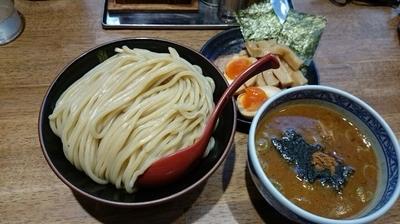 「つけ麺大三田盛りセット」@つけ麺専門店 三田製麺所 なんば店の写真