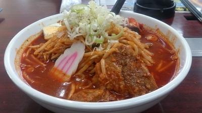 「太龍ラーメン(辛口)」@焼肉レストラン 太龍の写真