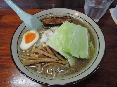 「濃厚煮干し麺」@にぼしらーめん 七の和の写真