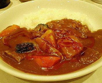 「肉と野菜のカレー 850円」@カレーハウスリオ 相鉄ジョイナス店の写真