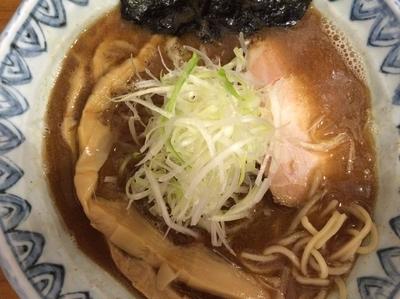 「蕪村そば 730円(メンマ+150円)」@麺屋蕪村の写真