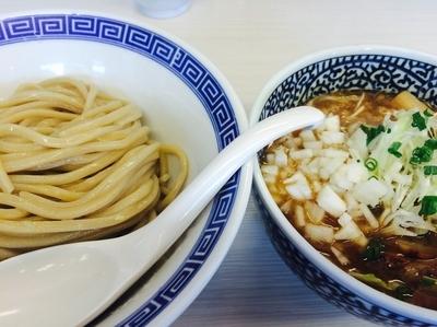 「にぼっしーつけ麺」@濃厚鶏豚骨魚介つけ麺 かず屋の写真