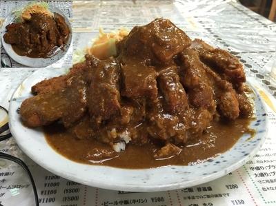 「カツカレー」@レストラン ばーくの写真