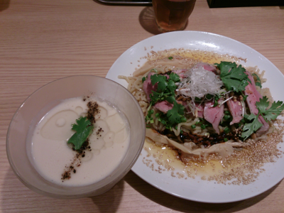 「[夏の限定] よだれヒツジ」@自家製麺 MENSHO TOKYOの写真
