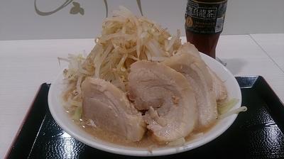 「富士盛(野菜ダブル・にんにく1杯・アブラ2杯)」@ジャンクガレッジ 甲府昭和店の写真