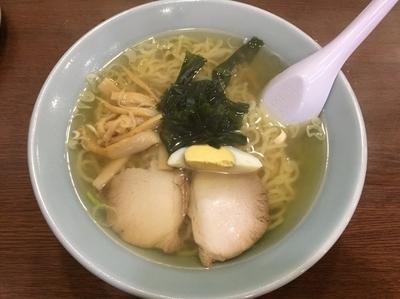 「中国そば【650円】」@中国料理 おがわの写真