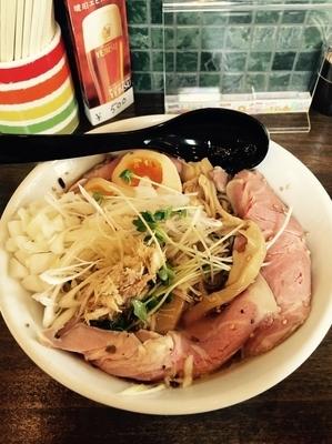 「特製冷やしトリュフ塩ラーメン」@麺屋みつばの写真