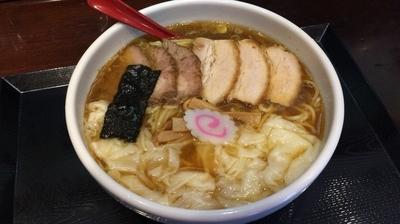 「チャーシューワンタン麺」@中華蕎麦 金魚の写真
