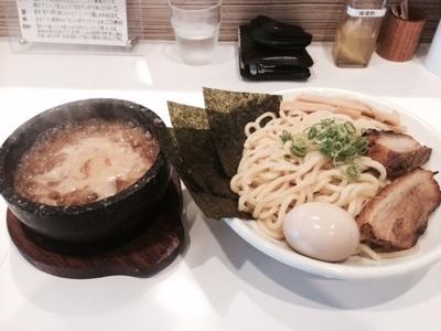 「つけ麺+全部のせ」@ぶっと麺 しゃにむにの写真