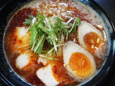 「濃厚辛鶏白湯麺830円」@究極J'sラーメンの写真