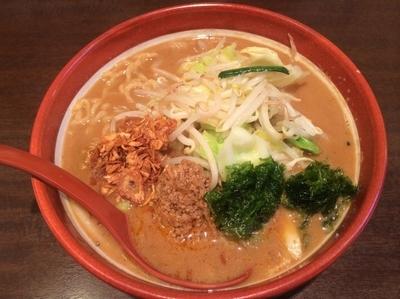 「伊勢味噌野菜らーめん(810円)」@蔵deらーめんの写真