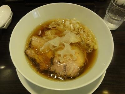 「鶏醤らぁ麺」@TSURUMEN 大阪城北詰店の写真