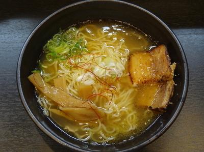 「塩らーめん」@麺屋 つばきの写真
