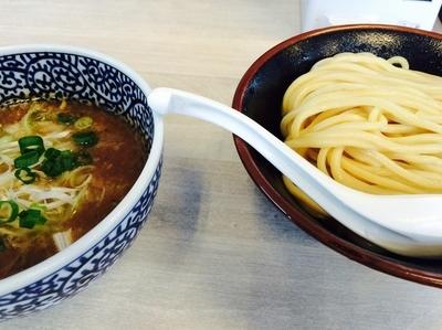 「濃厚豚骨魚介つけ麺」@景勝軒 伊勢崎宮子町店の写真